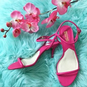 MK Girly Pink Shoes